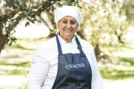"""María del Carmen """"Chacha"""" Vicario, cocinera de """"Casa del Visitante""""."""