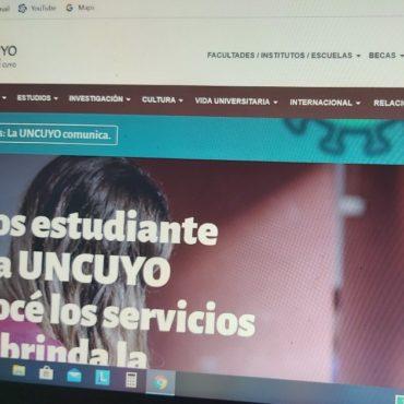 La UNCuyo continúa con clases virtuales