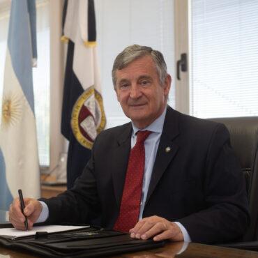 Entrevista a Daniel Pizzi, rector de la UNCUYO: «Todo el personal ha sabido cumplir con las premisas con gran altura»