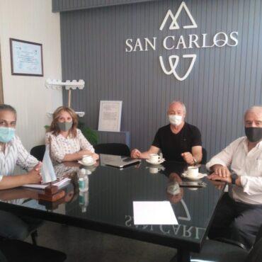 La FEM realiza gestiones por San Carlos junto a sus autoridades