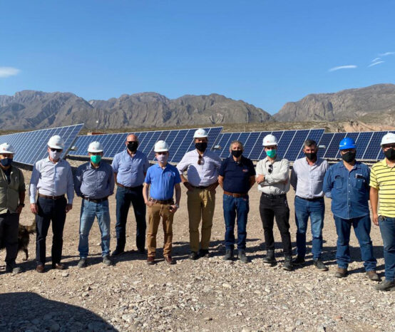 Autoridades de IMPSA visitaron los proyectos que la empresa tiene en San Juan